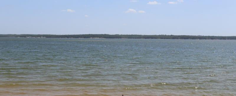 Lake Texoma Topo Map